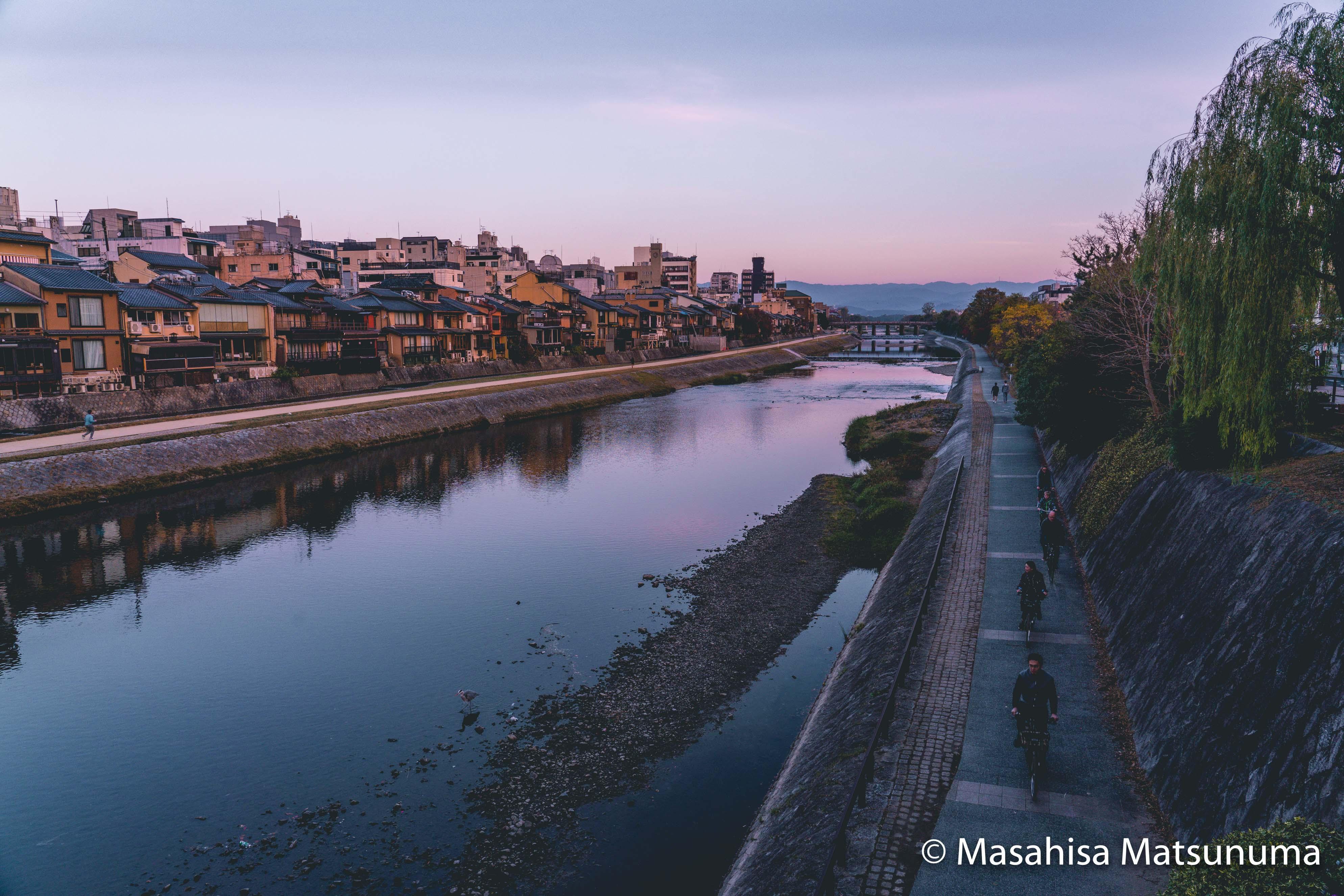 Kamogawa Kamo River 鴨川